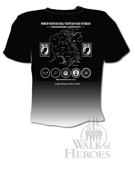 40th Anniversary Observance of the End of the Vietnam War Tee Shirt
