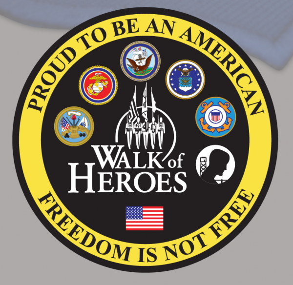 Walk of Heroes 5x5 patch